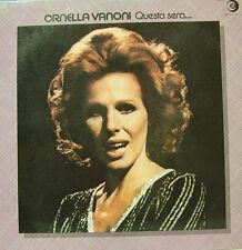 ORNELLA VANONI-QUESTA SERA... LP VINILO 1977 SPAIN EXCELLENT COVER-GOOD VINYL