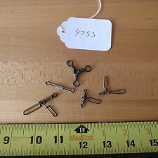 Vintage Antique fishing lure swivels for fishing lures (lot#9753)