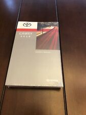 2018 TOYOTA CAMRY FACTORY OWNERS MANUAL BRAND NEW SEALED IN WRAPPER OEM