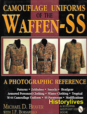 Schiffer - Camouflage Uniforms Of The Waffen-SS Zeltbahns Winter Tropical 08036