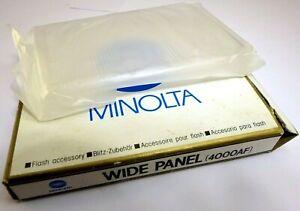 Minolta Wide Panel 4000 AF Flash adapter Maxxum