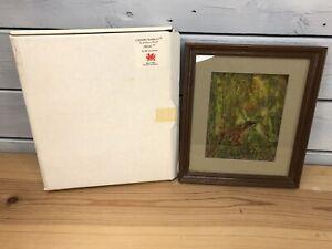 Country Rambles by Anthony Wyatt - Frog - 3D Glass Print - 1987 - Original Box