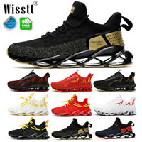 Mens Shock Absorbing Trainers Sneakers Breathable Sport Running Shoes Gym Casual