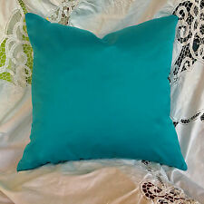 "Designers guild tissu cara turquoise housse de coussin 18X18"""
