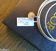 ALOR Classique Affirmation Bangle 18kt. Rose Gold w/ Stainless Steel HOPE Charm