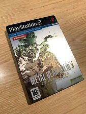 Metal Gear Solid 3 Snake Eater (Limited Steelbook ITA)(PS2 - PlayStation 2)