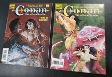 CONAN SAGA MARVEL Comics #90  # 91 Oversized Magazines 1994 NM / Unread