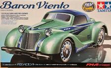 TAMIYA 1:32 AUTO MINI 4WD BARON VIENTO FM-A CHASSIS REV SERIES CON MOTORE  18709