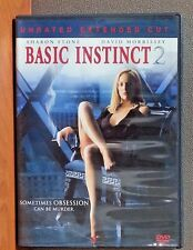 Basic Instinct 2 -Unrated Extended Cut (Widescreen Edition)  DVD   LIKE NEW