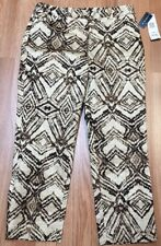 Jones New York Sport Stretch Crop Capri Pants Women's Size 6 NWT $79