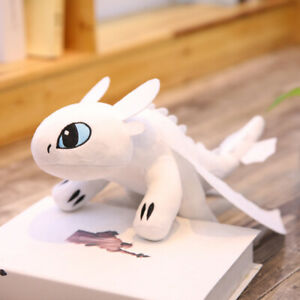 """Your Dragon 3 Toothless Night Fury Light Fury Plush Doll 14""""  How to Train"""