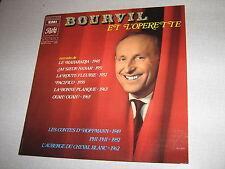 BOURVIL 33 TOURS FRANCE BOURVIL ET L'OPERETTE