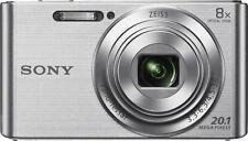 Sony Cybershot W830 20.1mp 8 X Zoom Compact Digital Camera Silver