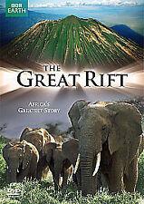 THE GREAT RIFT (BBC Earth Documentary)  - DVD - REGION 2 UK