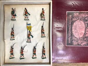 Haffner: Boxed Set - Scottish Highlanders Marching. Pre War c1900