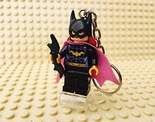 DC Comics Batgirl Lego Minifigure Keyring UK SELLER