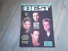 BEST N° 225 / AVRIL 1987 / U2 / BANGLES / TALKING HEADS