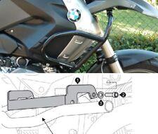 Protezione serbatoio tubolare Nero per paracilindri originale BMW R1200 GS 04-07