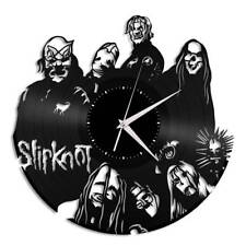 Slipknot Vinyl Wall Clock Music Bands Musicians Themed Home Room Decoration