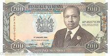 Kenya 200 Shilingi 1994 Unc pn 29f