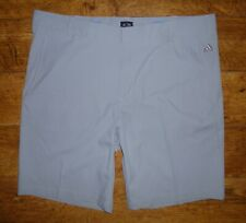 "New Adidas Puremotion Stretch Golf Shorts 38 Grey 3-stripe BNWOT Waist 38"" 97cm"