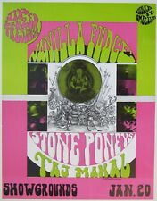 Jim Salzer Presents VANILLA FUDGE / TAJ MAHAL in SB (ORIGINAL PRINTING) POSTER