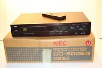 Vintage NEC CD-500 Compact Disc Player 15 Track