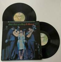 Peter Paul and Mary In Concert Double Vinyl Album Record Disc LP