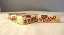 24 RAW  Organic Hemp Rolling Papers Full Box Natural Paper 1 1/4 Size