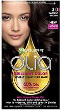 GARNIER  OLIA OIL POWERED PERMANENT COLOR Darkest Brown 3.0