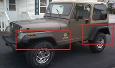 """JEEP WRANGLER YJ 1987 - 1996 WHEEL ARCH - FENDER FLARES EXTENSIONS NEW 18cm / 7"""""""