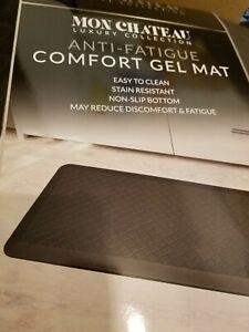 "Mon Chateau Anti Fatigue Comfort Gel Mat 20"" X 42"" BROWN"