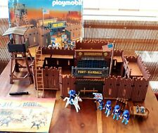Playmobil 3773 fort Randall Bravo COMPLETO oeste far west fuerte año 1988