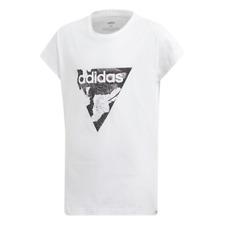 Adidas Girls Essential Loose Tee Tshirt Kids Youth Junior DV0338 Training