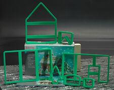 Städter 7er Set Ausstecher Ausstechform Set Hexenhaus Kunststoff