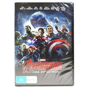 Avengers Age of Ultron Marvel Cinematic Chris Hemsworth DVD R4 New Sealed