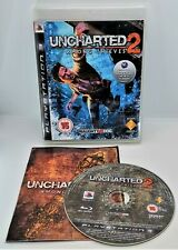 Uncharted 2: Among Thieves Video Game for Sony PlayStation 3 PS3 PAL TESTED
