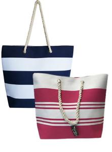 Thomas Calvi Women Beach Bag Ladies Large Holiday Tote Summer Canvas Travel Bags
