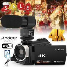 WiFi 4K HD 1080P 48MP 16X ZOOM Digital Video Camera Camcorder DV Night Vision