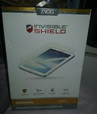 Zagg Invisible Shield for Samsung Galaxy Note 8.0 ~ NIP From Smoke Free Home