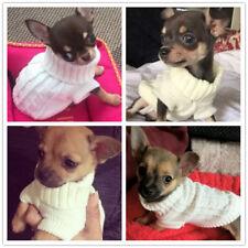 Yorkie Maltese Small Pet Dog Cat Sweater Knit Jumper Puppy Clothes XS XXS XXS