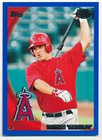 MIKE TROUT 2010 TOPPS PRO DEBUT #181 RC ROOKIE BLUE ANGELS SP MINT #142/259