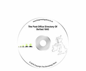 The Post Office Directory Of Belfast 1843