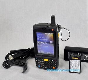 MC75 MC7598-PZESKQWA9WR 1D/2D Motorola Barcode Scanner SPRINT +Charge/USB KIT
