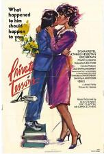 PRIVATE LESSONS Movie POSTER 27x40 Eric Brown Sylvia Kristel Howard Hesseman