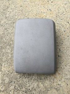HOLDEN RA RODEO CENTRE CONSOLE LID ARM REST GREY DX LX LT RC COLORADO FLAT TYPE