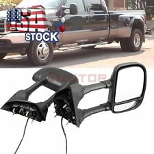 Power Heated Tow Telescoping Mirrors For Ford F250 F350 F450 F550 Super Duty  7M
