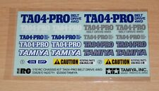 Tamiya 58261 TA-04 Pro Belt Drive Chassis Kit/TA04, 9495348/19495348 Decals, NIP