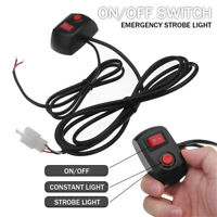 On/Off Switch Line For HID & LED Bulbs Warning Strobe Lights Roof Top Emergency