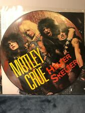 Motley Crue Helter Skelter Picture Disc Lp-Fold Out Poster-Limited Ed. Interview